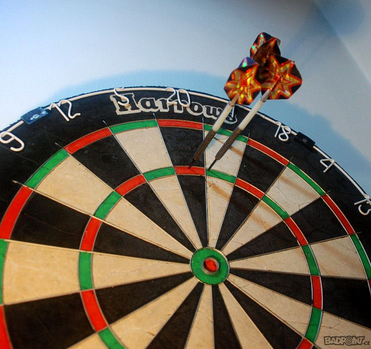 darts - triple 20 a 1 - time for a spliff :)
