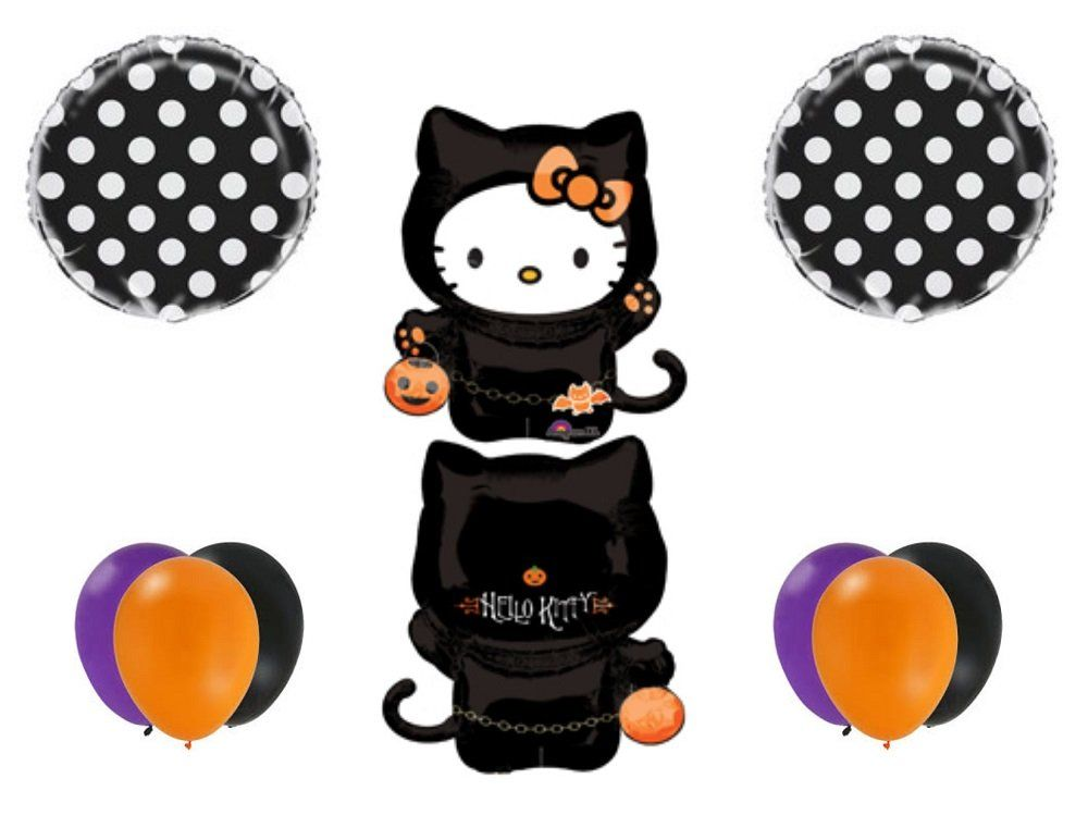 Halloween Decorations Celebration -- HALLOWEEN HELLO KITTY Party - hello kitty halloween decorations