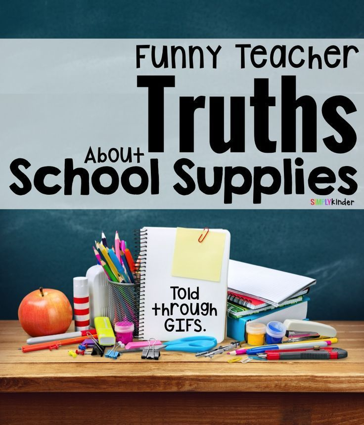 The Truth About Back To School Supplies - Simply Kinder