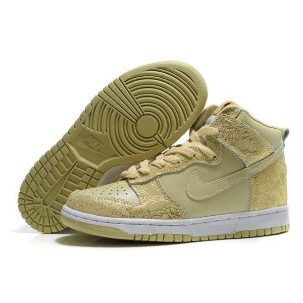 Nike Dunk SB Men Pale Goldenrod High Shoes [ Nike 2355]