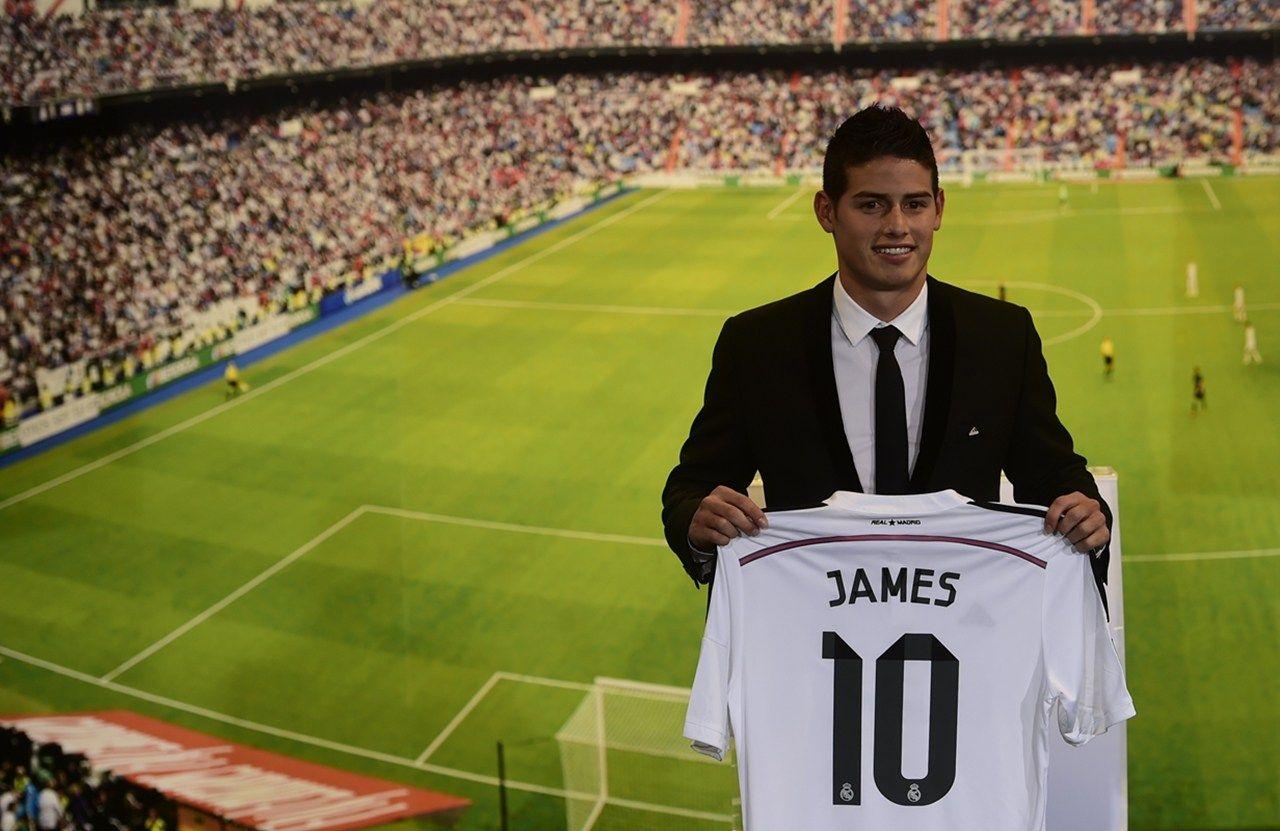 80 mil transfer fee, beyond Zidane James rodriguez