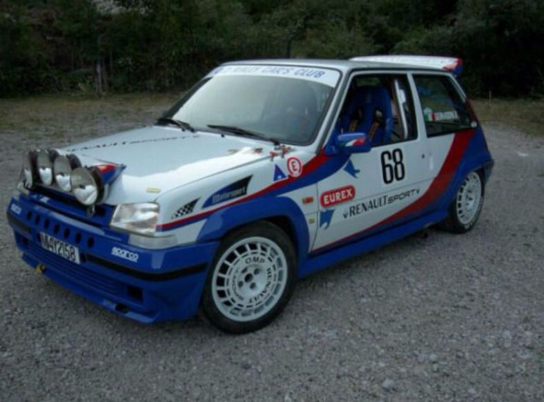 Renault 5GT Turbo Rally