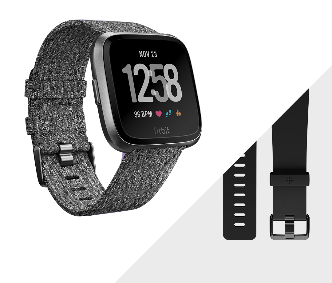 Fitbit Versa™ Watches | Check into in 2019 | Fitbit, Fitbit
