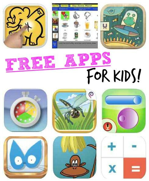 Free Apps for Kids Educational Apps and Games! (With