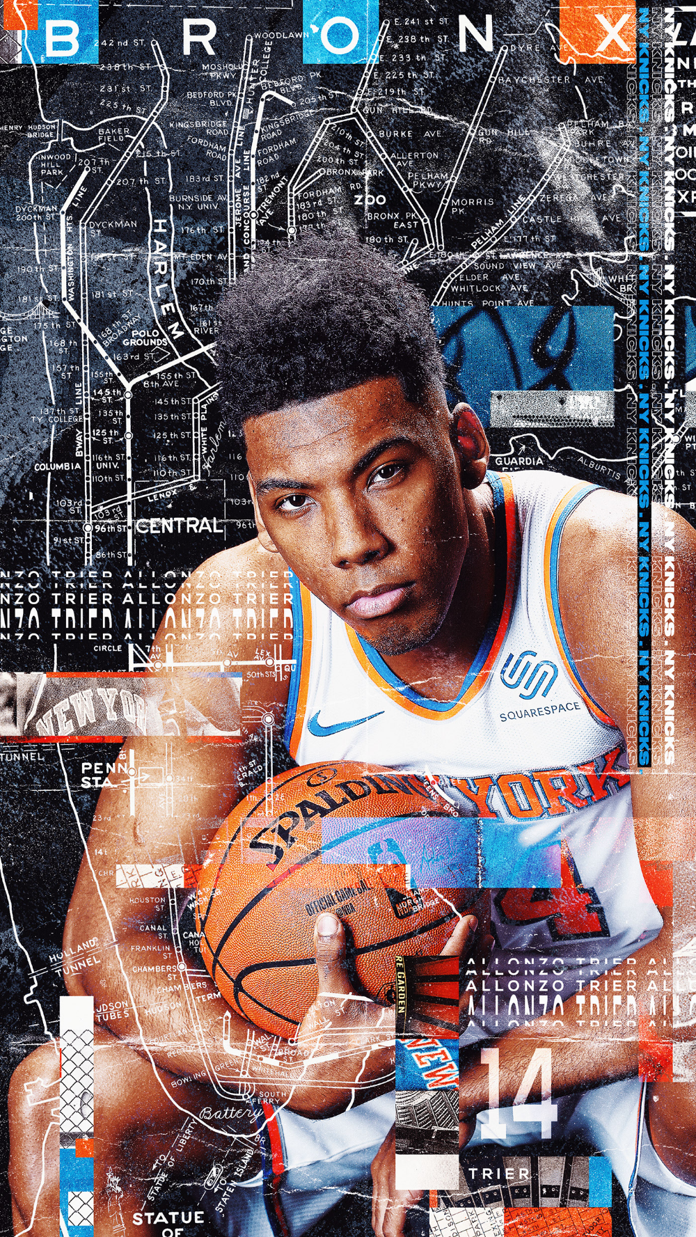 WallpaperWednesday New York Knicks on Behance in 2020