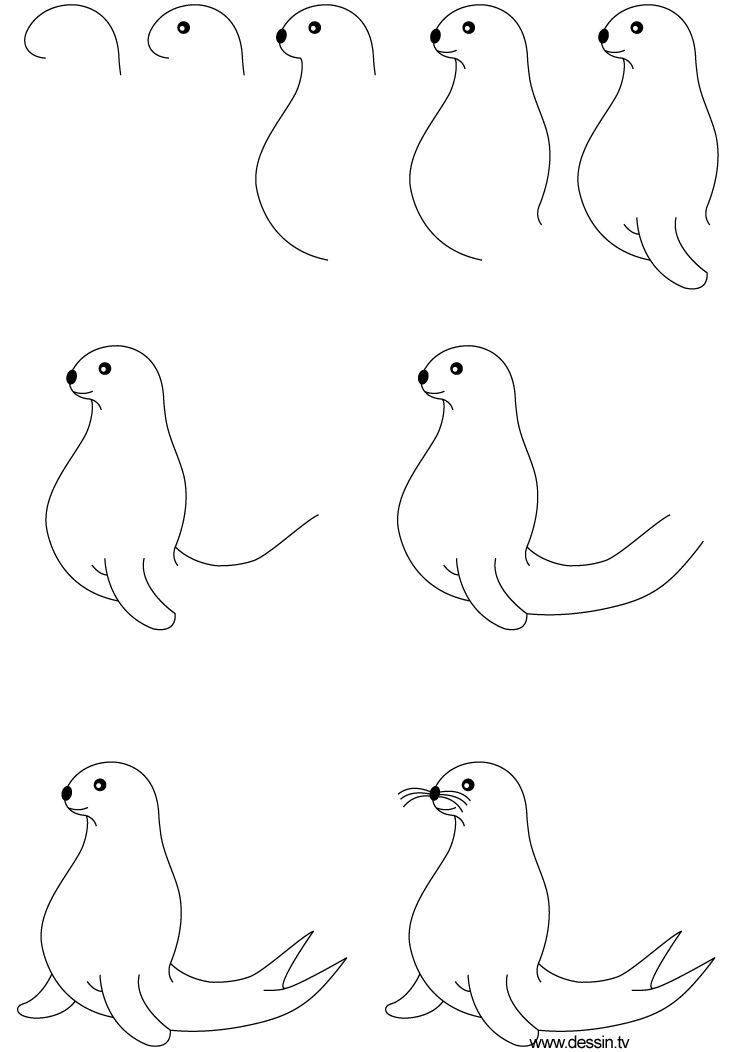 2013 11 En Sæl Foca Drawings Art Drawings Y Easy Drawings