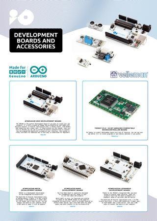 Velleman IO Development Boards  Velleman IO Development Boards made for Genuino & Arduino