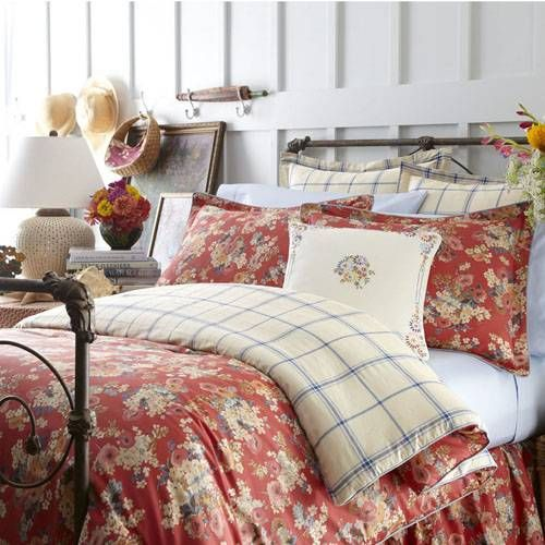 Ralph Lauren King Size Bedding I Like The Floral And Touch