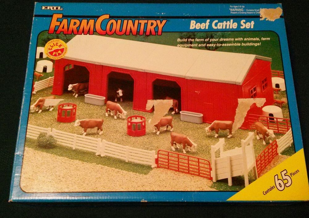 1//64 Ertl Farm Country Red Building Section