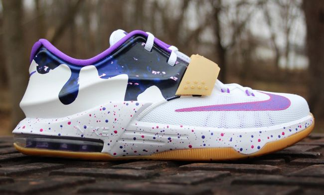 reputable site 33720 26c66 Nike KD 7 GS Peanut Butter & Jelly (PB&J | Basketball Shoes ...