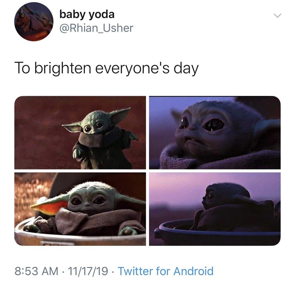 Cute Baby Yoda Memes Because The Internet Can T Even Funny Babies Baby Humor Meme Teething Baby Humor