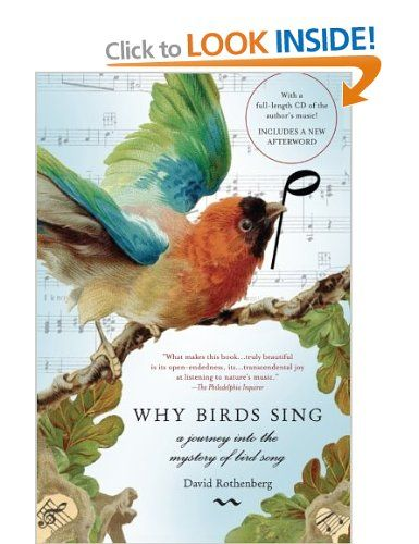 Why Birds Sing: A Journey into the Mystery of Birdsong: Amazon.co.uk: David Rothenberg: Books