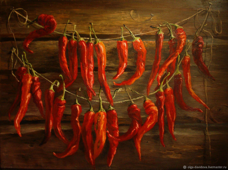 картинки для декупажа с красным перцем пикантный салат подойдет