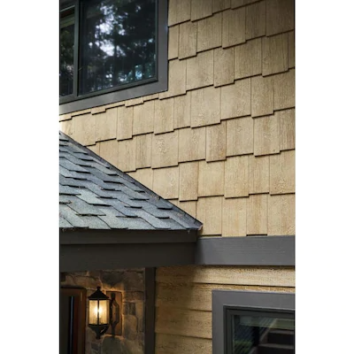 Smartside 76 Series Primed Engineered Shake Siding Wood Siding Panel 0 437 In X 12 In X 48 In Lowes Com In 2020 Wood Siding Wood Panel Siding Cedar Shake Siding