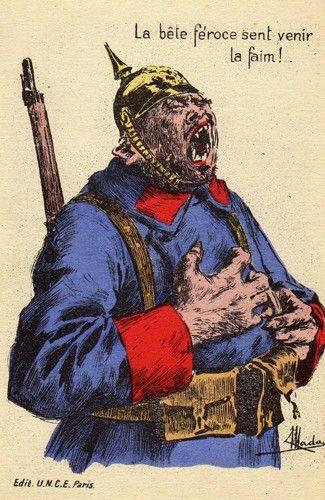 Les Cartes Postales Satiriques Pendant La Premiere Guerre Mondiale Premiere Guerre Mondiale Guerre Mondiale Satirique