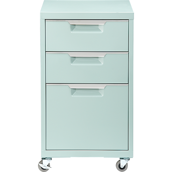 TPS mint 3-drawer filing cabinet | Girl cave, Rolling file cabinet ...