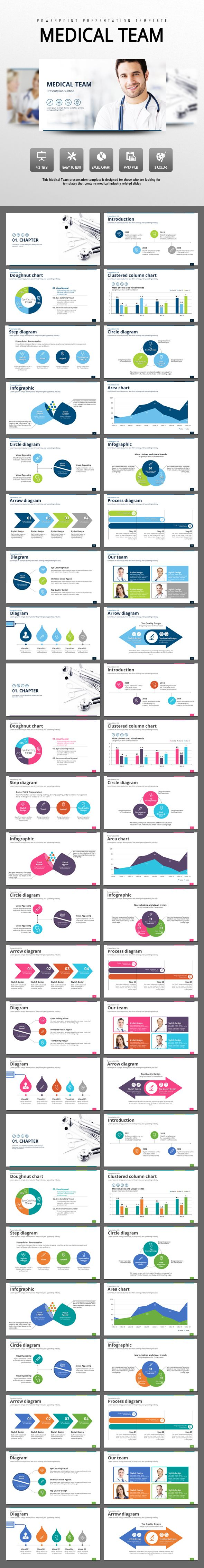 Medical Team PowerPoint Templates Powerpoint Template - Best of powerpoint medical template design
