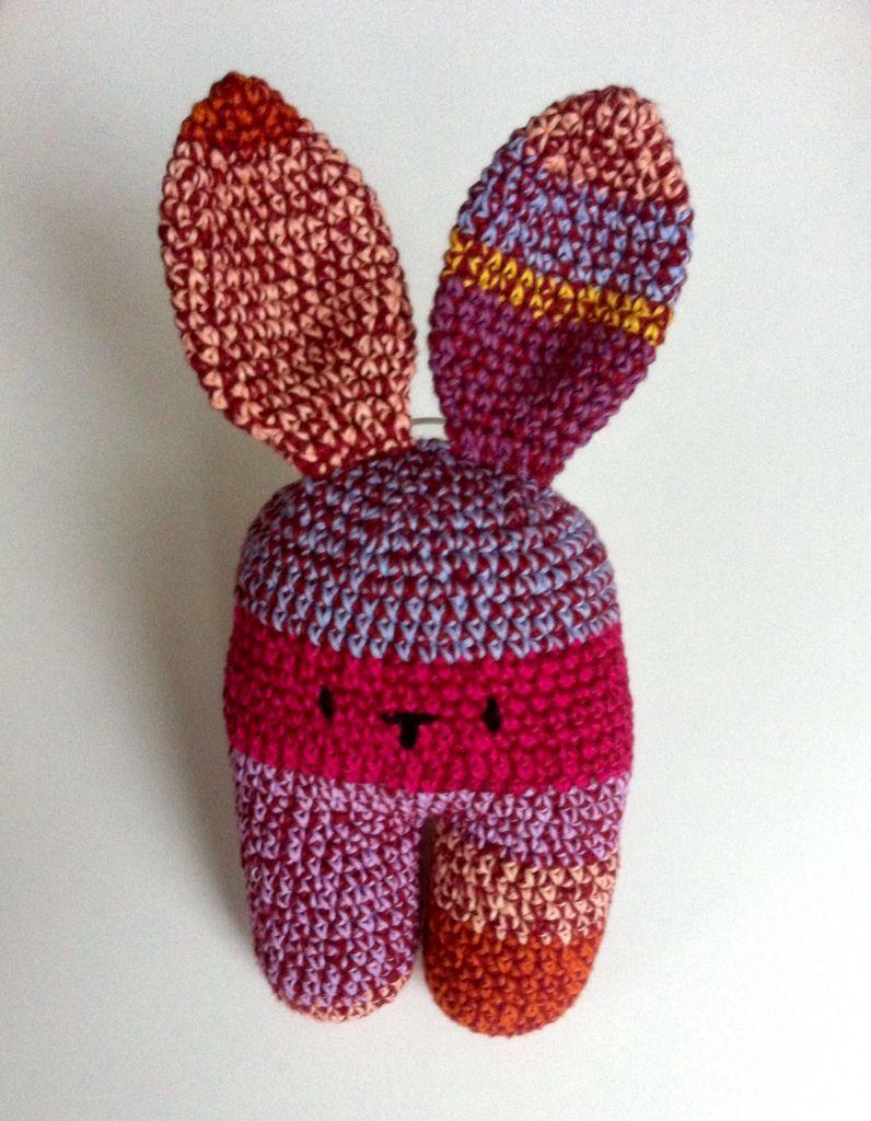 Bunny knuffeltje Haken Crochet