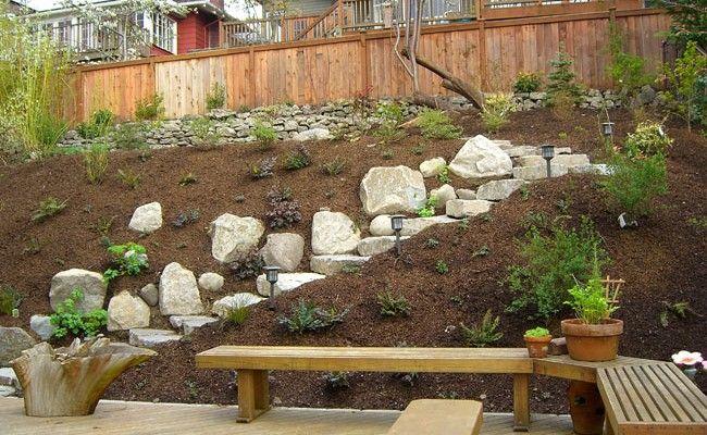 Top 9 Steep Hillside Landscaping Ideas Sloped Backyard Landscaping Landscaping With Rocks Backyard Landscaping Designs