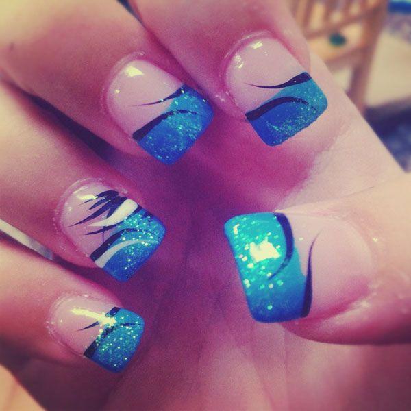 20 Unique Acrylic Nails Designs #acrylicnails #nailart #naildesigns #nails - 20 Unique Acrylic Nails Designs #acrylicnails #nailart #naildesigns