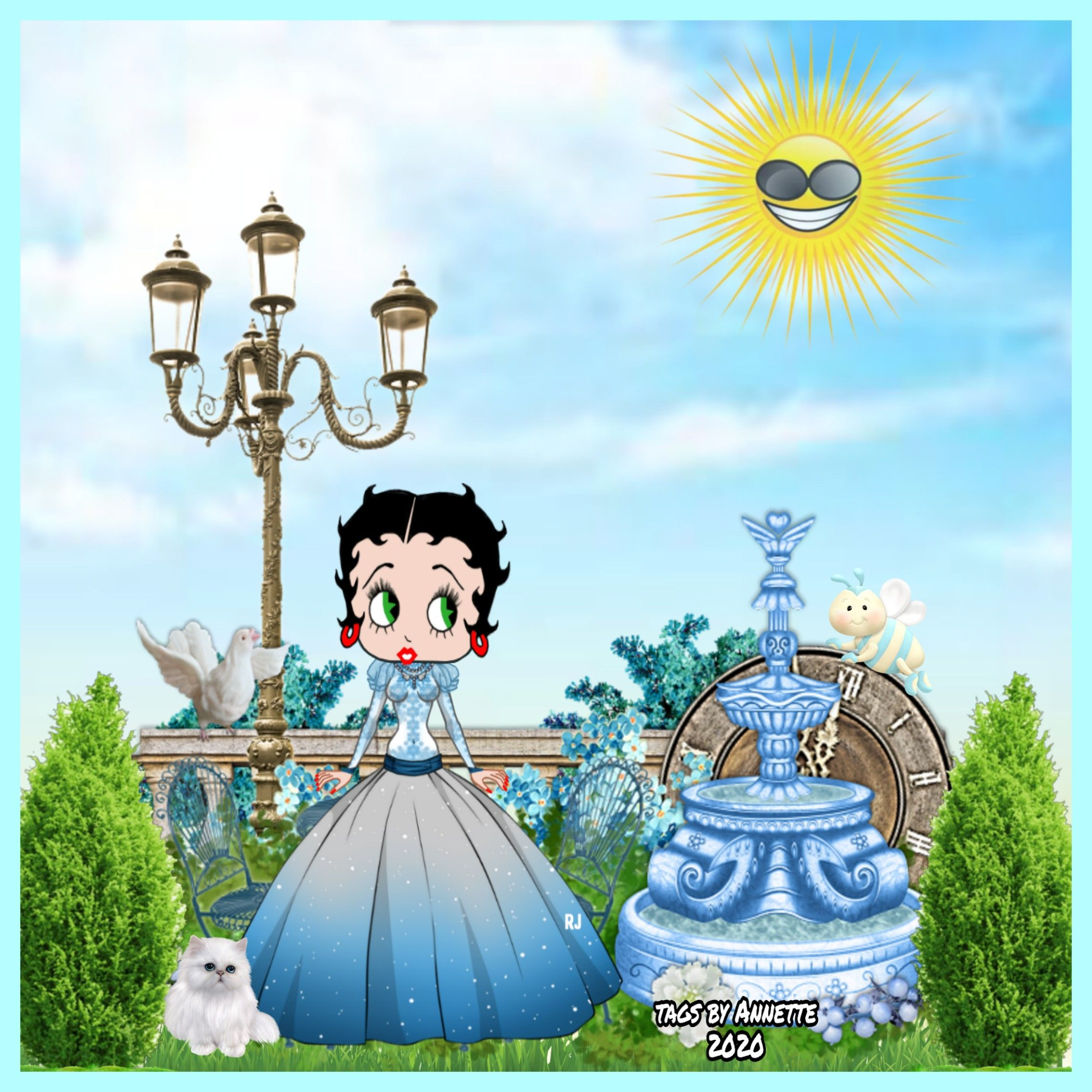 Pin By Annette Lutynski On Spring/Easter Betty Boop 2020