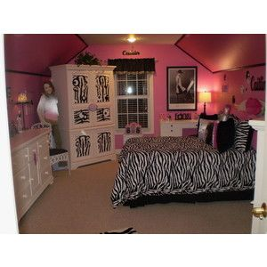 Girl Bedroom Designs Zebra zebra rooms - google search | desiree & kaitlynn's room decor