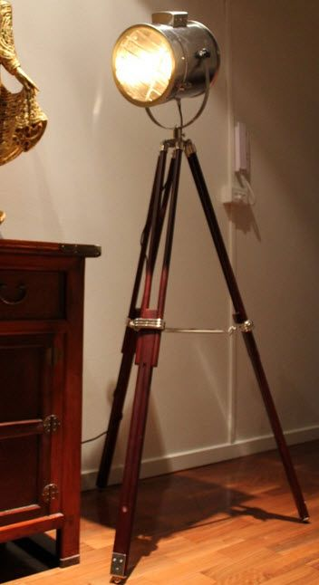 Light The Way With This Tripod Floor Lamp Inspired By The