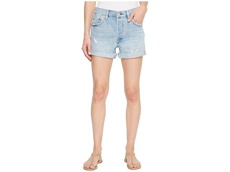 8cb645263 Levi's(r) Premium Premium 501 Long Shorts (North Beach Blues ...