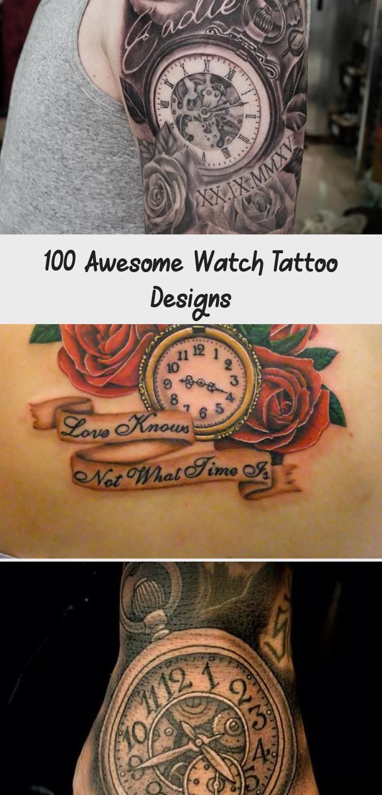 Photo of 100 Fantastische Uhr Tattoo Designs – Tattoo İdeas