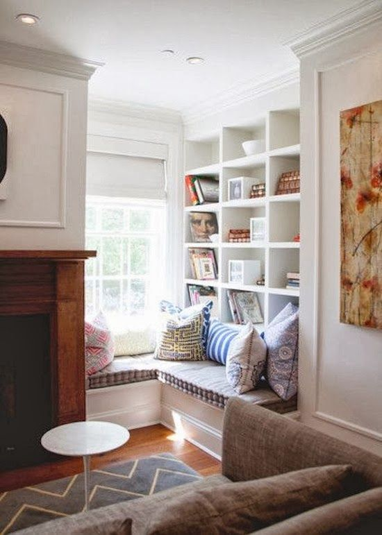 The Zhush Seven More Cozy Nooks To Love Home Interior Home Decor #reading #area #in #living #room