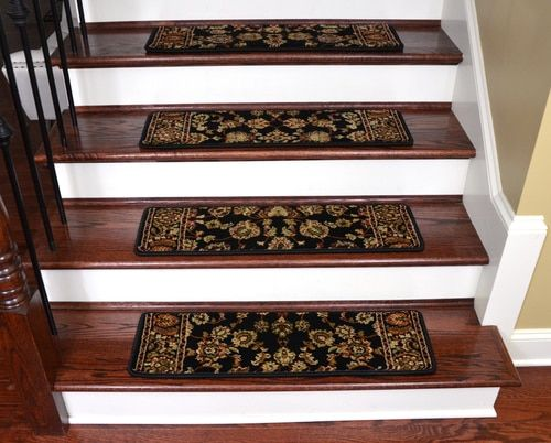 Best Dean Non Slip Pet Friendly Premium Carpet Stair Treads 400 x 300