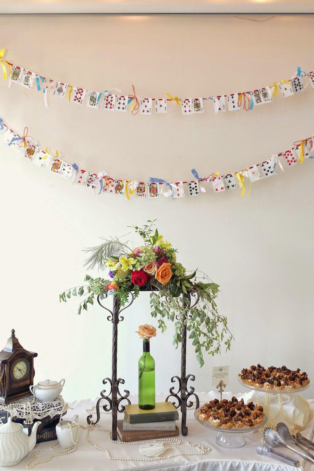 Alice in Wonderland Themed Wedding - Dessert Table - Wonderland ...