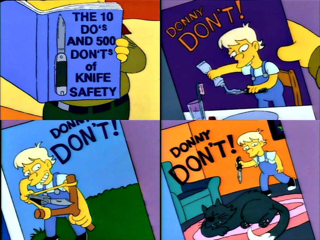 Simpsons Bs To