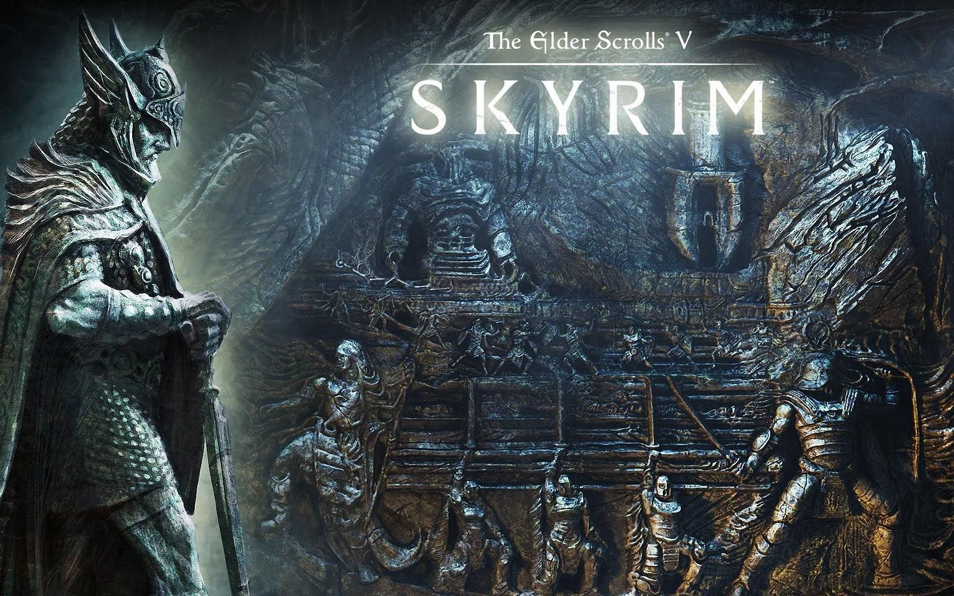 Norse Mythology Wallpaper Skyrim Wallpaper Skyrim Elder Scrolls V Skyrim