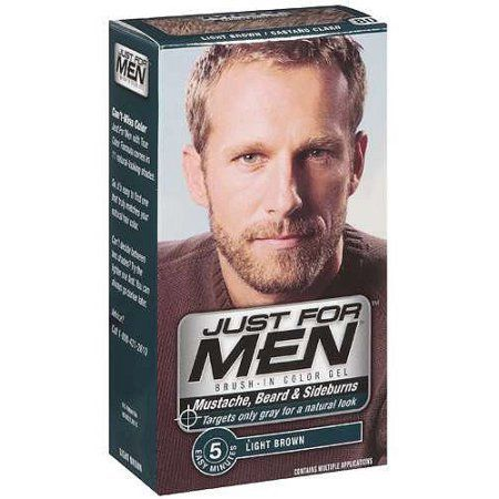 Just For Men Mustache and Beard, Easy Brush-In Facial Hair