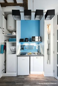 Avant/après : 20 m2 libérés dans ce petit appartement parisien ...