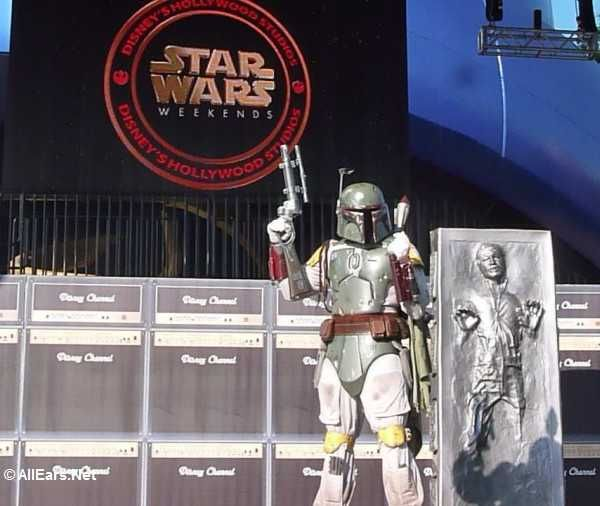 I wish Star Wars Weekends were at a completely different time of the year.  Maybe then I would get to go.