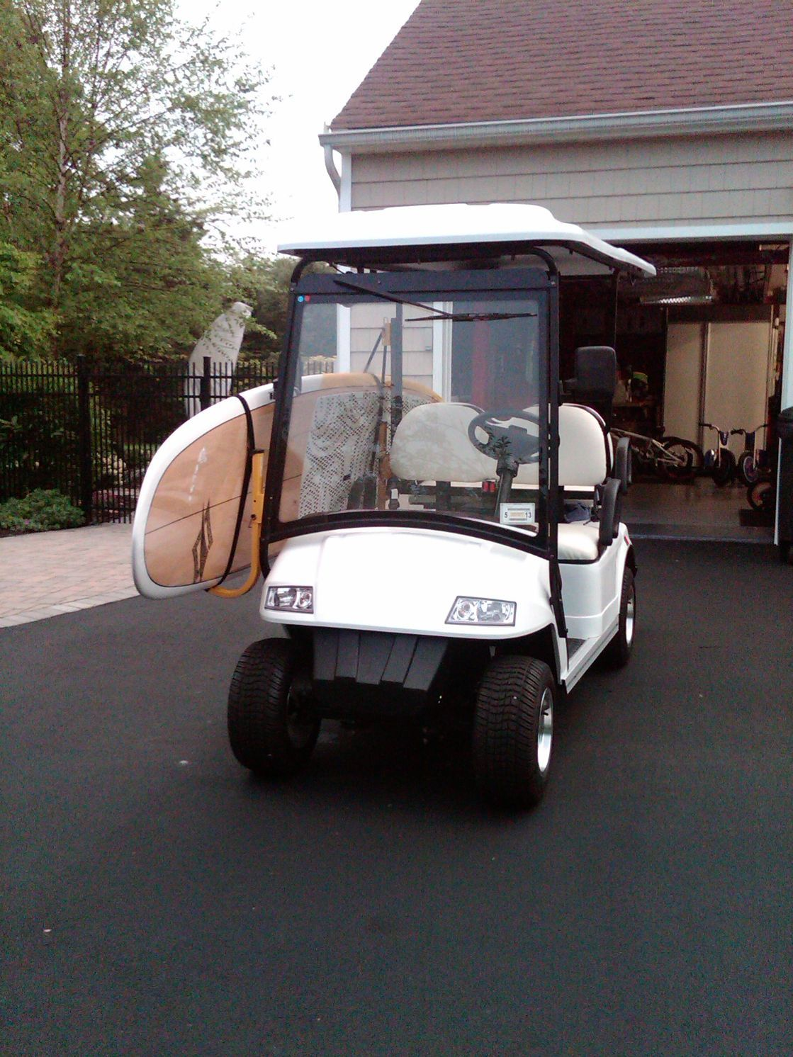 Customer Gallery | SUP racks | Pinterest | Golf carts, Paddle ... on golf cart shopping, golf cart surfing, golf cart batman, golf cart paint ideas, golf cart fishing, golf cart driver,