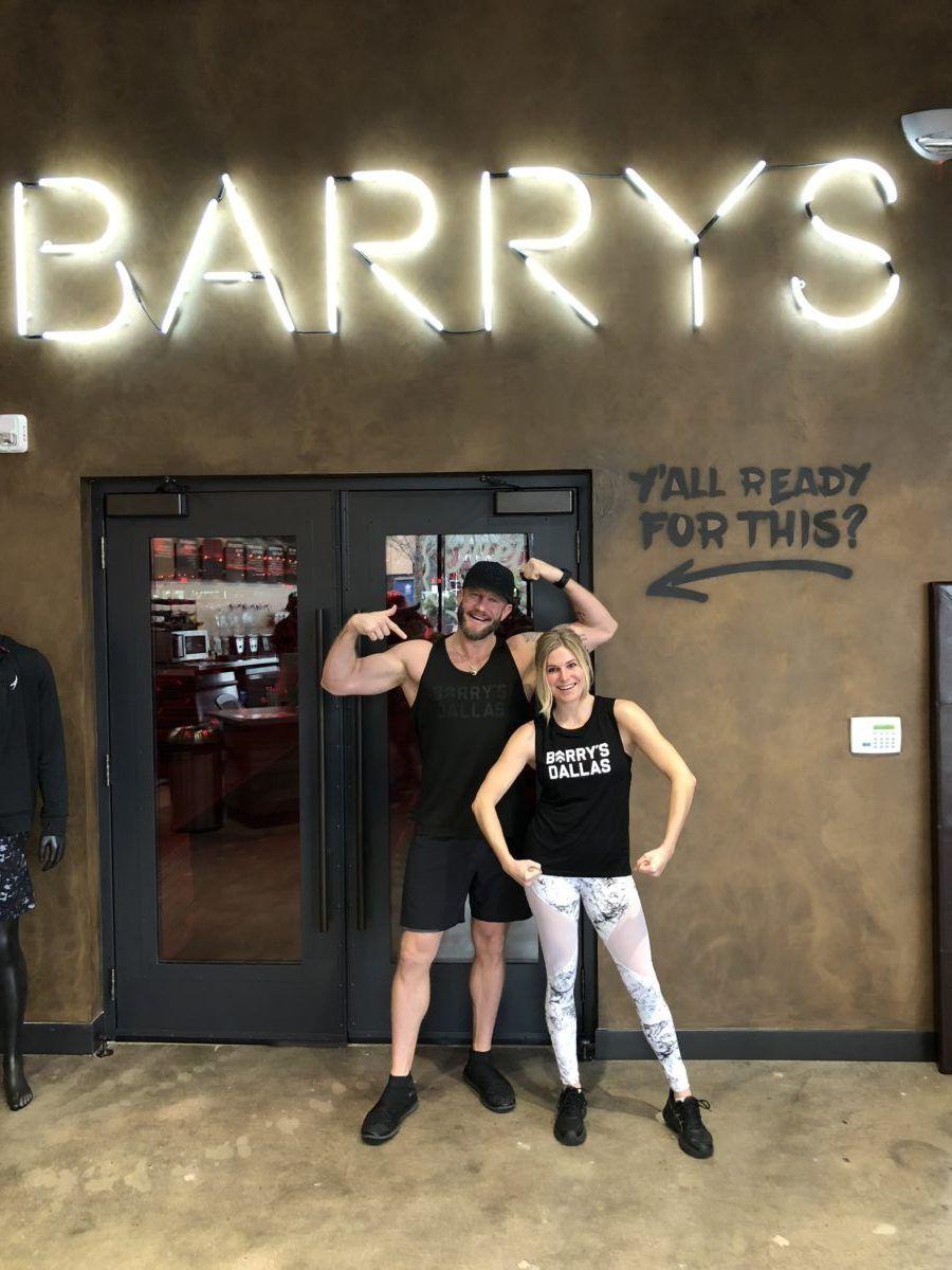 Barrys bootcamp in west village dallas barrys bootcamp