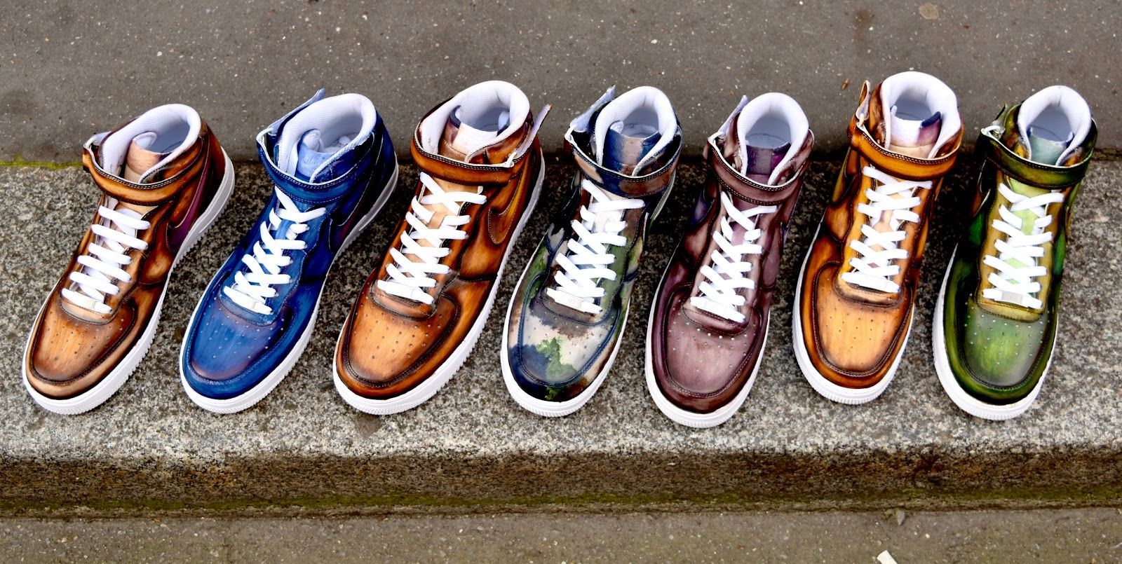 patina by Paulus Bolten on air force one mid | Sneakers