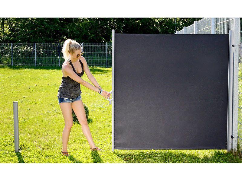 http://j.mp/sonnenschirme-org-Kauftipp  Royal Gardineer Seitenmarkise 180 x 300 cm - http://j.mp/Seitenmarkise