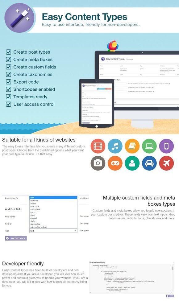 Easy Content Types. WordPress Landing Page Themes | WordPress ...