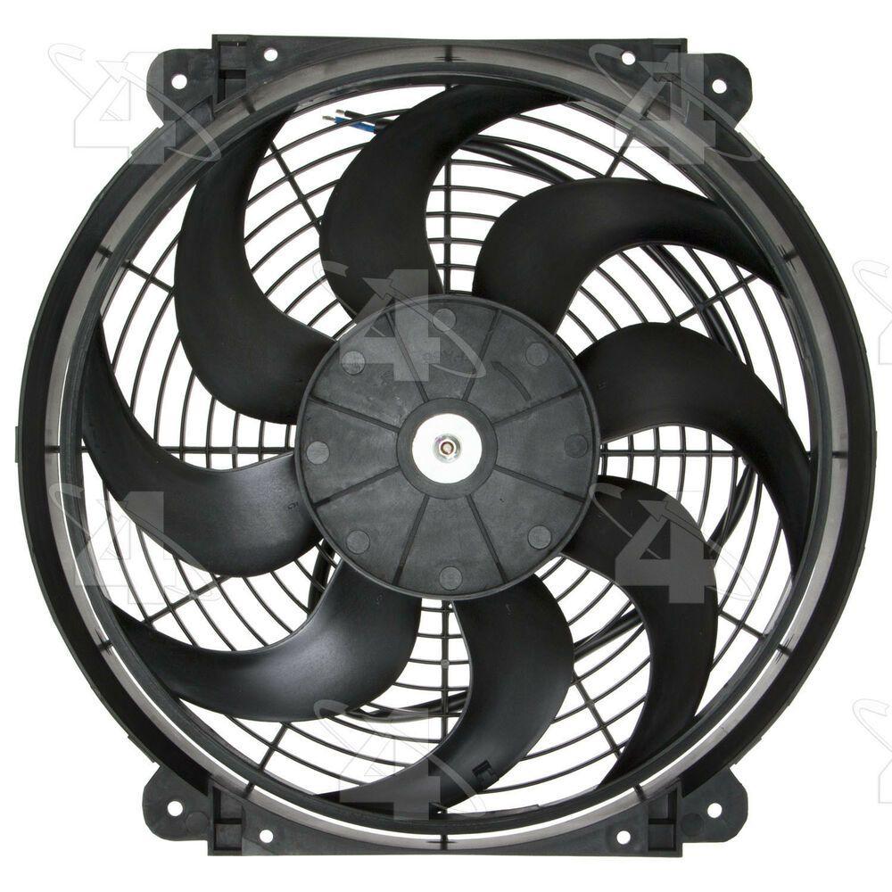 Engine Cooling Fan Electric Fan Kit 4 Seasons 36897 Cooling