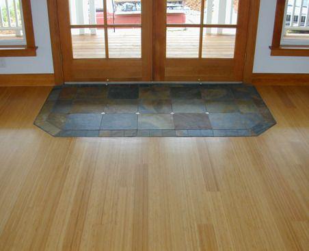 Ceramic Tile And Hardwood Together