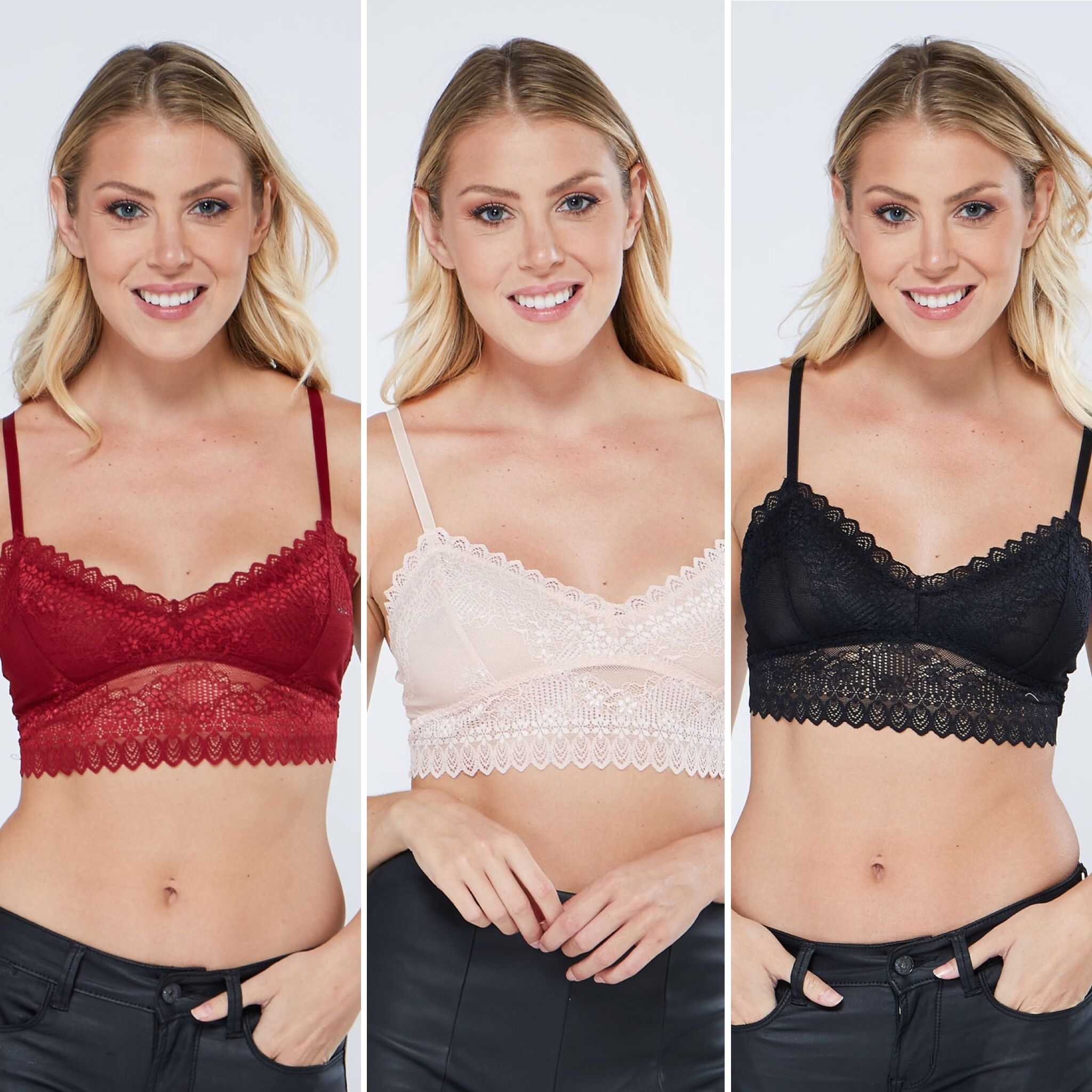 d6e2ef46c8122 Which color would you pick for your best bralette  ♕ Shop your inside out  at edgelook.com
