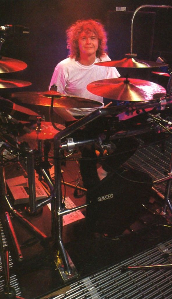 Rick allen drum set