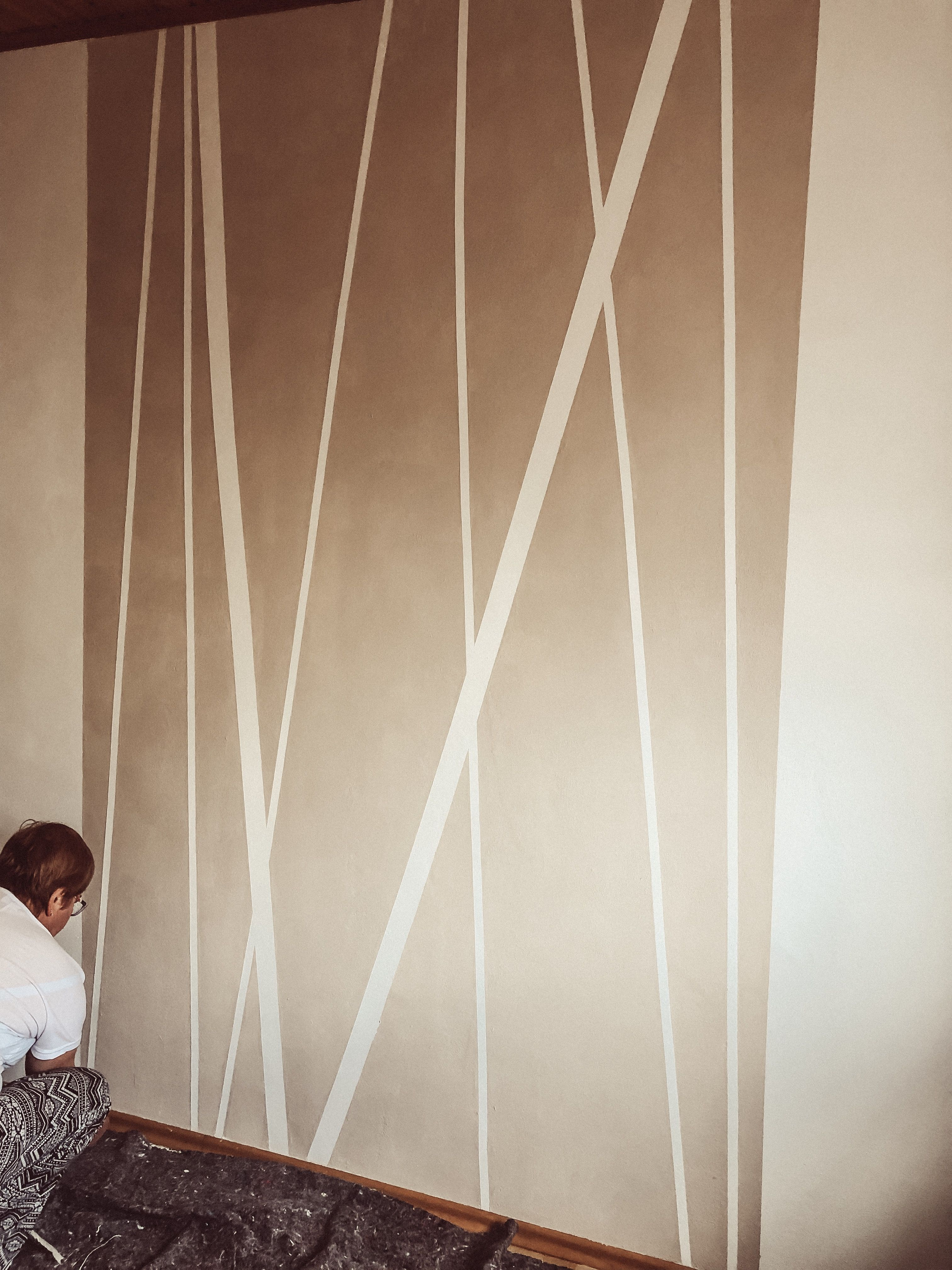 Wand streichen mit Pep