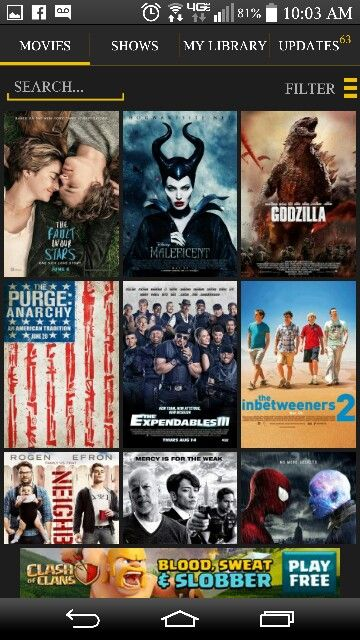 free movies to watch on my android