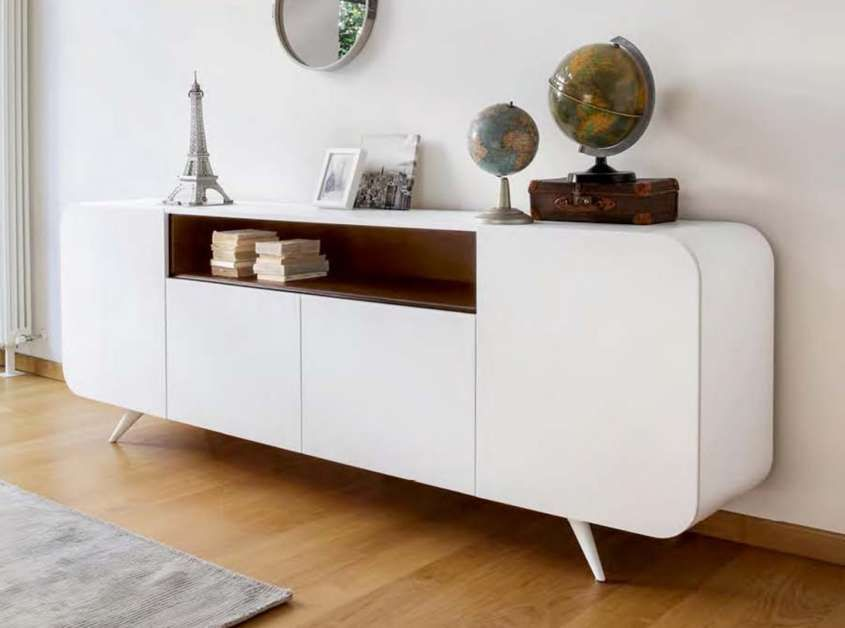 Arredamento Svedese Vintage : Arredamento in stile anni 50 mobile bianco vintage dresser