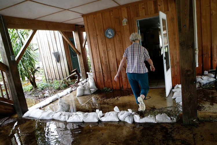 How much weather and water damage can you claim on home